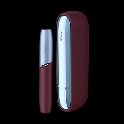 IQOS 3 DUO Frosted Red Starter Kit in Dubai/UAE