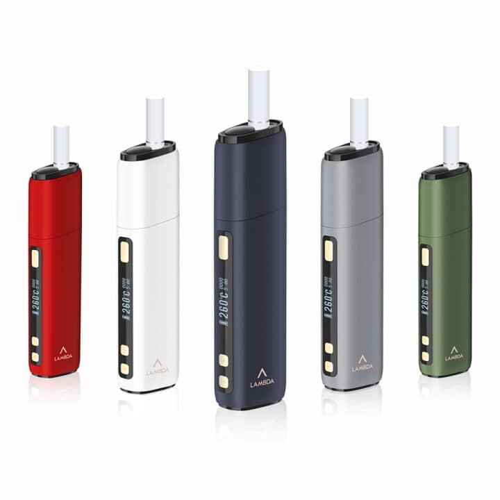 LAMBDA CC Heat Not Burn Device Starter Kits for Tobacco Sticks IN DUBAI/UAE